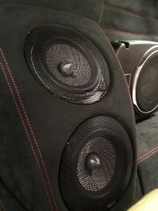 Ferrari F430 Scuderia audio upgrade