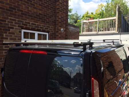 Vanguard roof bar system.